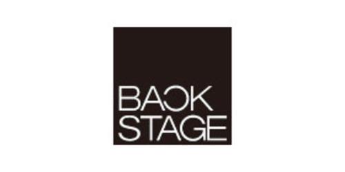 BACK STAGEのロゴ画像