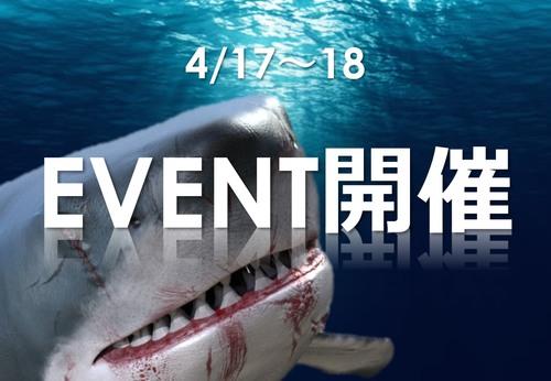 ハッピーシャークキャッチャーイベント開催!!!!